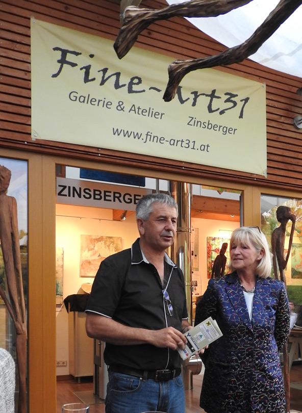 """Galerie """"le fine Art"""", Josef Zinsberger"""