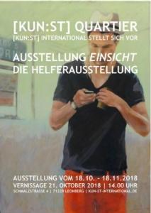 EINSICHT - Gruppenausstellung